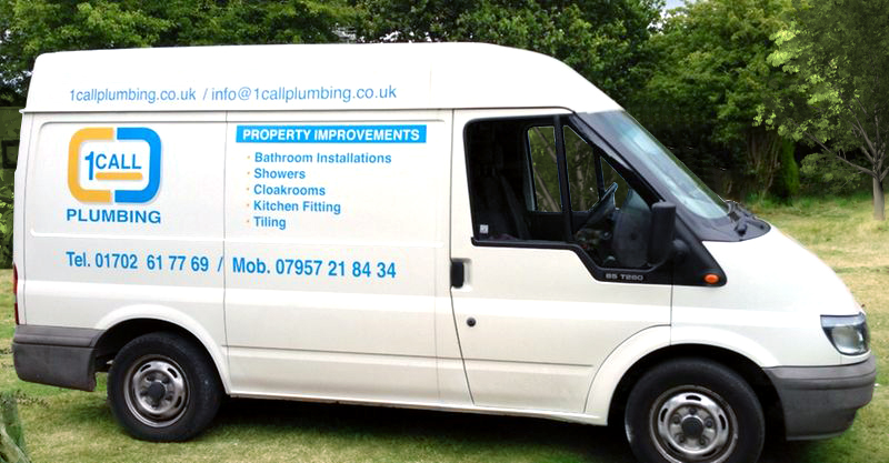 Southend Plumber 1 Call Plumbing - our van